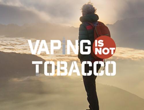 Fragen und Antworten zu Vaping is NOT Tobacco