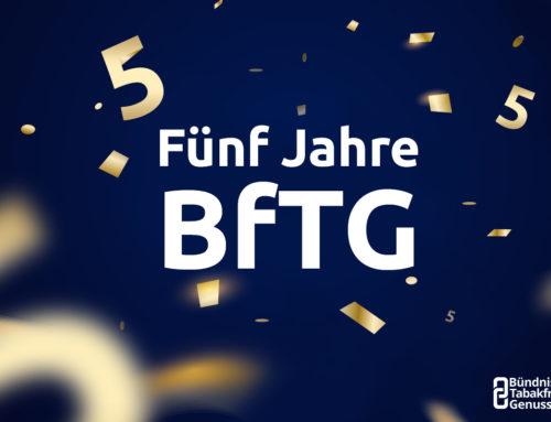 BfTG wird fünf Jahre alt